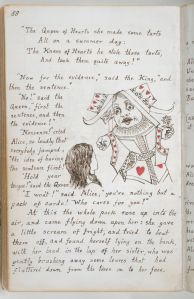 Lewis Carroll 'Alice's Adventures Under Ground'