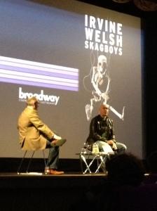 Irvine Welsh Talking at the Broadway Cinema, Nottingham.
