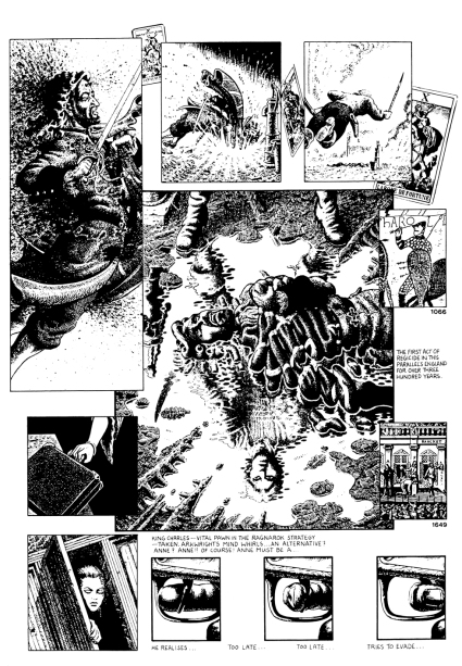Page from The Adventures of Luther Arkwright