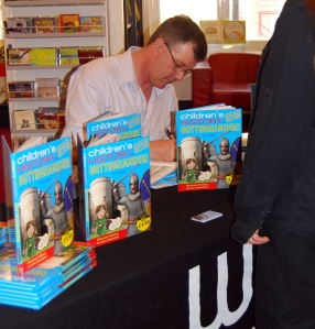 Ian Douglas Waterstones signing October 2011