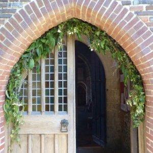 Entrance to Bosham church