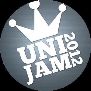 Uni jam 2012 logo