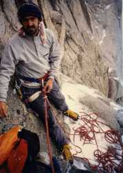 Andy on Mount Whitney, US.