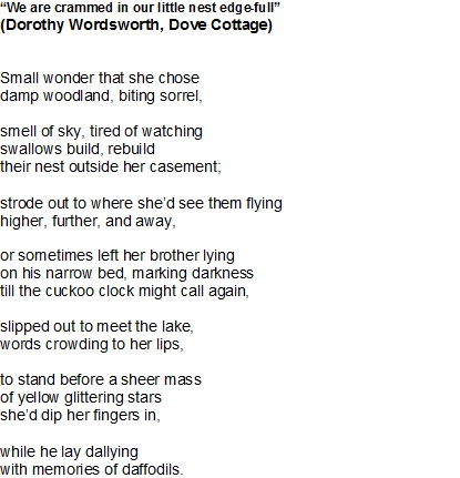 Dorothy Wordsworth Poem