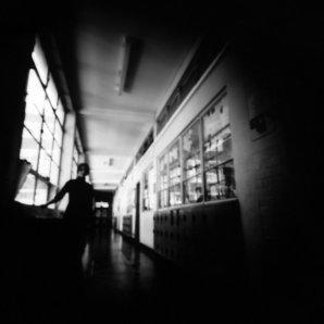Pinhole camera photograph