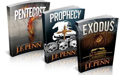 ARKANE Series Book Covers