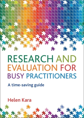 Research and Evaluation for Busy Practitioners Book Cover