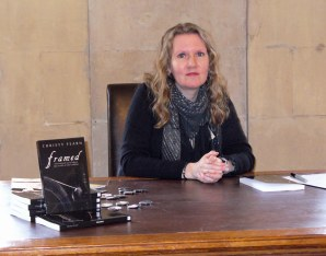 Christy busy book signing at Newstead Abbey