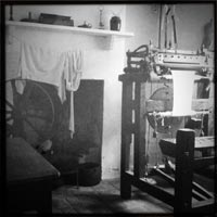Kitchen at the Ruddington Framework Knitter's Museum
