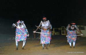 Aboriginal storytelling by women of the Daiwa Gidga people