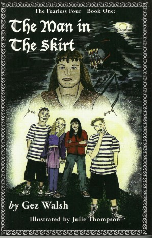 The Man in the Skirt book cover
