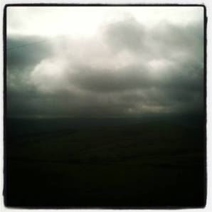 There is always the moody moorland weather to contend with.
