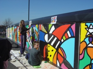 Phoenix Green Mural Project, Coalville, Leicestershire