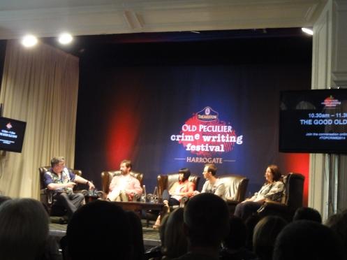 Good Old Days Panel with Martyn Waites, James Oswald, Mel Sherratt, Mark Edwards and Mari Hannah