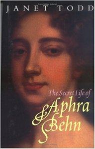 The Secret Life of Aphra Behn book cover