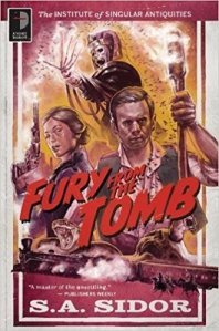 Fury From The Tomb book cover