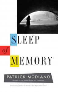 Sleep of Memory book cover. Picture of a silhouette of a woman under the arch of a bridge