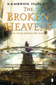 Book cover of The Broken Heavens