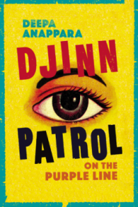 Book cover with painted eye on a bright yellow background