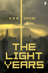 Book cover of the light years